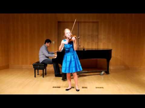 Prokofiev Violin Concerto No. 2 in G minor, Op. 63, 3rd movement
