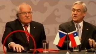 Czech President Caught Stealing Pen