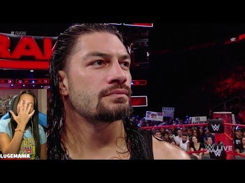 WWE Raw 9/18/17 Roman Reigns Promo
