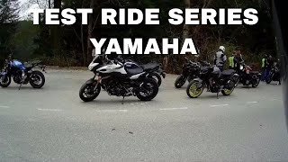 Test Ride Series Part 1: YAMAHA.  2017 - 2018 FZ-07(MT-07), FZ-09(MT-09), FJ-09 & XSR900