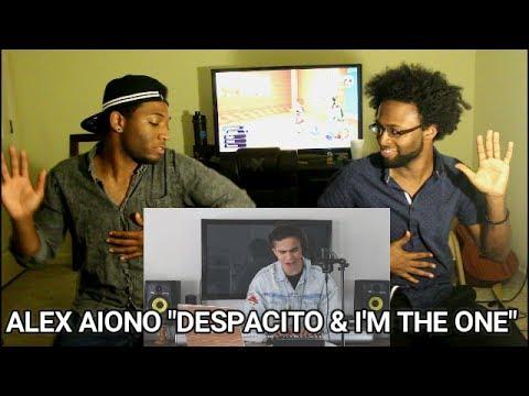 Despacito & I'm The One - Alex Aiono Cover (Reaction)
