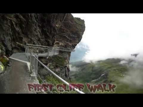 First Cliff Walk Grindelwald Fr 22072016