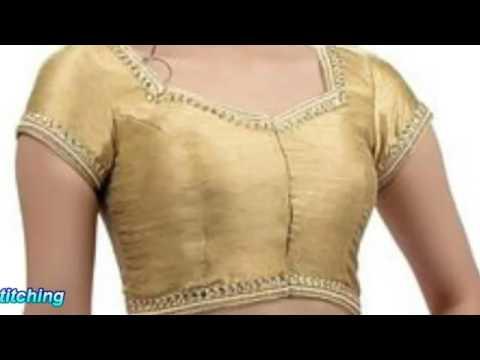 Latest women saree blouse designs
