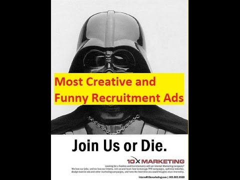 Most Creative And Funny Recruitment Ads That Will Bring A Smile To Your Face Youtube