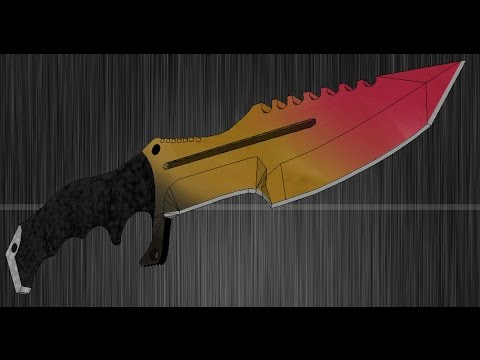 Cs go stash huntsman knife