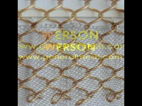 generalmesh Wire Drapery Fabrics,Decorative wire mesh curtains,Architectural Wire Mesh curtain