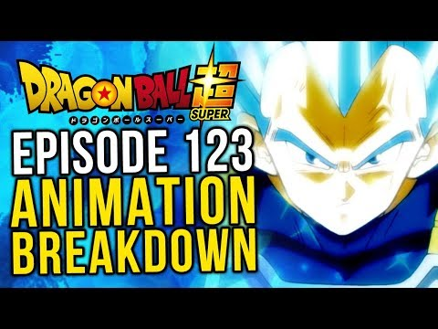 What Happened? Episode 123 Animation Breakdown - Dragon Ball Super