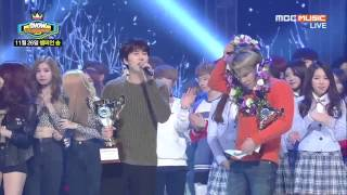 141126 圭賢 Kyuhyun 규현 - At Gwanghwamun 4TH WIN + ENCORE