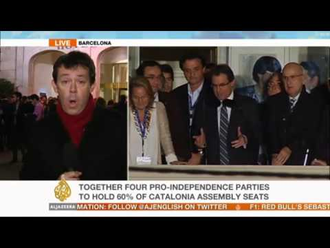 Al Jazeera's Barnaby Phillips reports on Catalonia election results from Barcelona