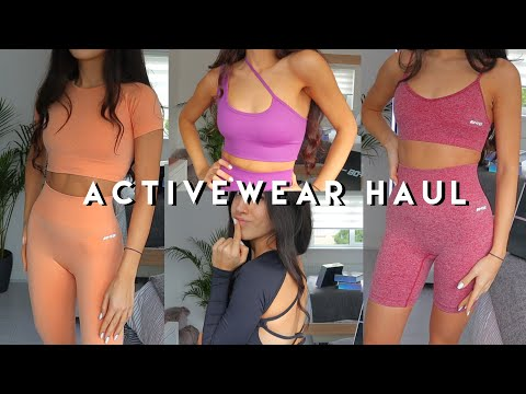 Activewear Try On Haul | Bo+Tee | Cute and Comfortable Activewear
