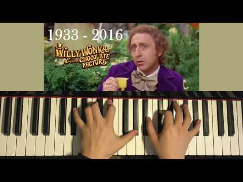 Willy Wonka - Pure Imagination (RIP 1933 - 2016) (Piano Dedication Cover by Amosdoll)