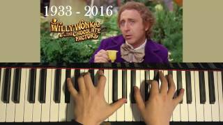 Willy Wonka - Pure Imagination (Piano Cover)