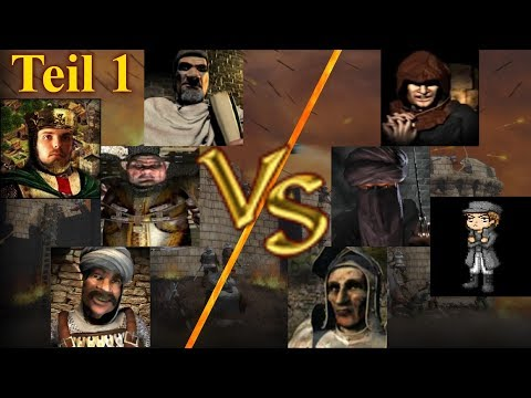 KI Kommando - Runde 2 - Teil 1 | Stronghold Crusader KI Kämpfe