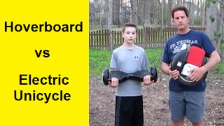 Hoverboard VS Electric Unicycle