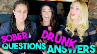 SOBER QUESTIONS & DRUNK ANSWERS ft. Stevie Boebi