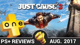 Just Cause 3 Review - PLUSone (PlayStation Plus August 2017)