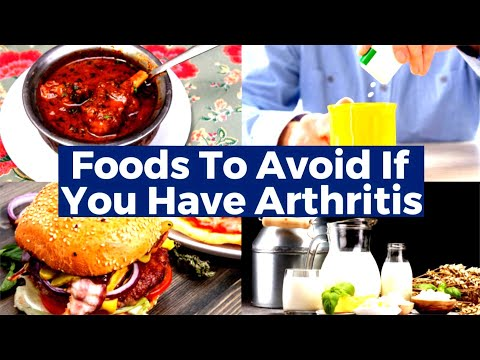 Do Not Eat These Foods And Beverages If You Are Suffering From Arthritis And Joint Pain!!