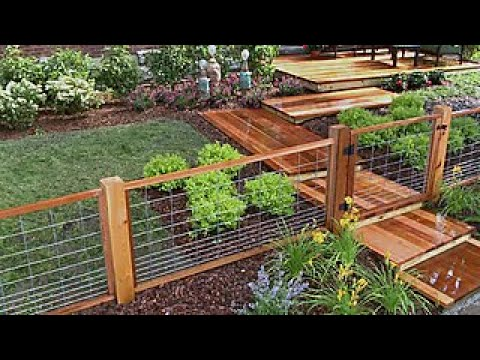 How To Install A Hog Wire Fence Diy Network
