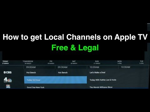 How To Get Local Channels On Apple TV