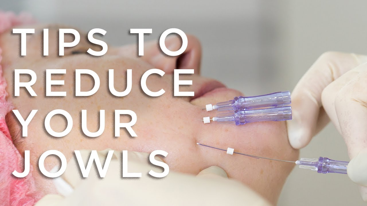 how to get rid of jowls fast