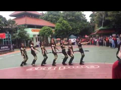 SMAN 6 Jakarta: Mahakam Dance 2k16 at STUPA CUP 2016 (3rd Place)