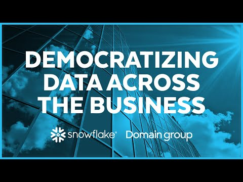 Domain Group - Democratizing Data Across the Business