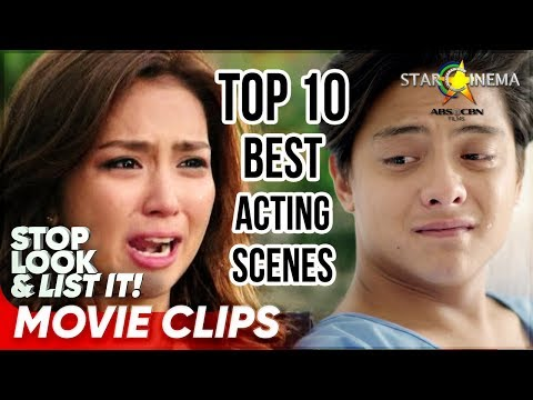 Top 10 Kathryn and Daniel's Best Acting Scenes | Stop Look and List It!