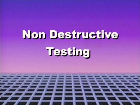 1970's NUS training Series Non destructive testing