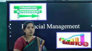 II PUC |  BUSINESS STUDIES  | FINANCIAL MANAGEMENT – 04