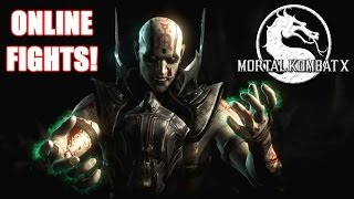 MY FIRST ONLINE FIGHTS! (Mortal Kombat X) Online Gameplay! (XBOX ONE 60FPS)