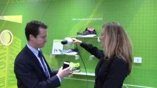 #MWC14 NXP Semiconductors: Shoes & Other Retail Applications