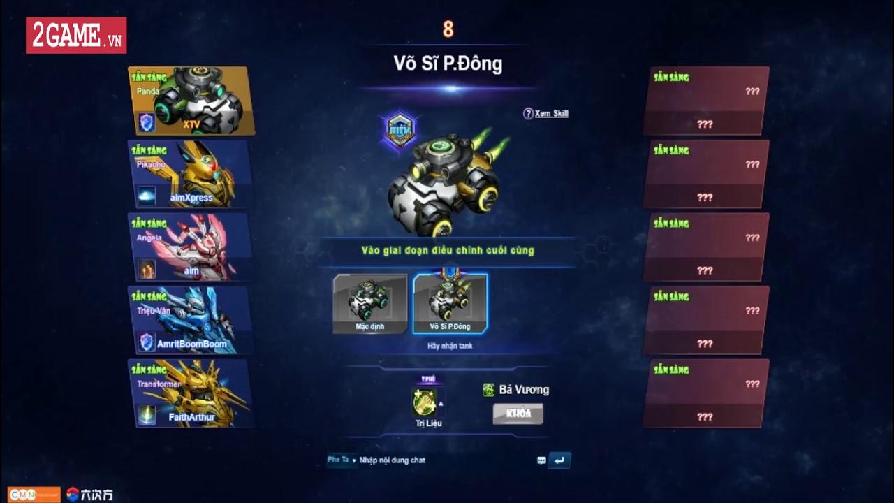 Độc quyền  Sờ tận tay webgame bắn tank MOBA   BangBang 2 bản Việt hóa