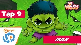 Drawing and Coloring HULK💪 SO COOL🌟   Easy drawing lesson for kids   Hí Hoáy - Ep 9