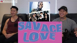 REACTING TO | BTS (방탄소년단) 'Savage Love' (Laxed – Siren Beat) [BTS Remix] Lyric Video