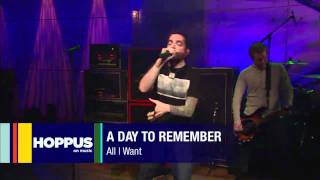 A Day To Remember   All I Want  Live at Hoppus On Music