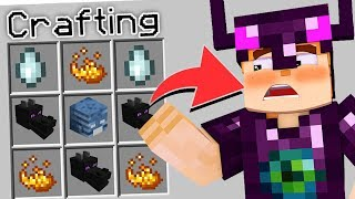 ENDER DRAGON ARMOUR CRAFTING RECIPE in MINECRAFT (THIS IS DANGEROUS)