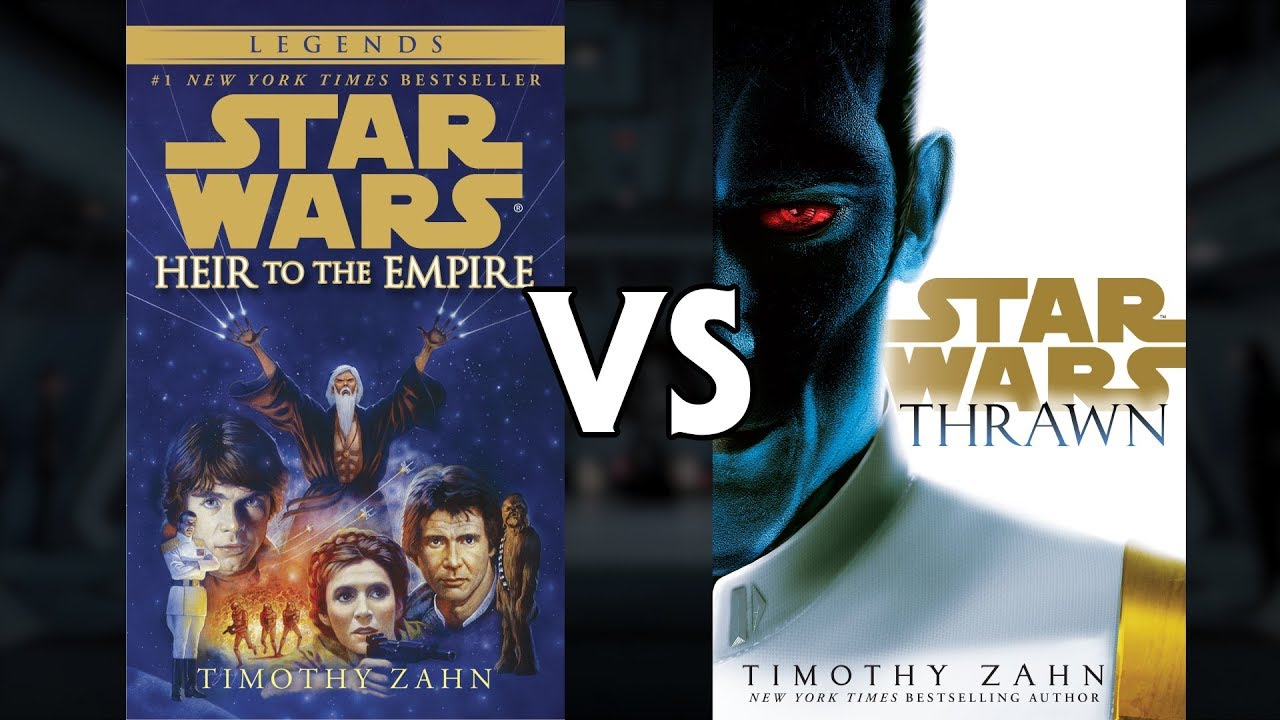 Which Thrawn Trilogy Is Better Star Wars Canon Vs Legends Youtube