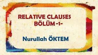 İngilizce Dersi 79 Relative Clauses Bölüm 1