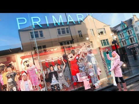 Shop With Me | Primark Disney Christmas Gift Hunting!