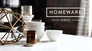 West Elm Homeware Haul