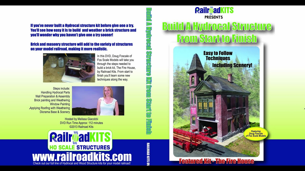 Build a Hydrocal Structure From Start To Finish [RK_DVD1
