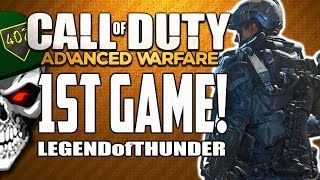 Call Of Duty: Advanced Warfare - My First COD AW Multiplayer Gameplay Ever (XBOX ONE)