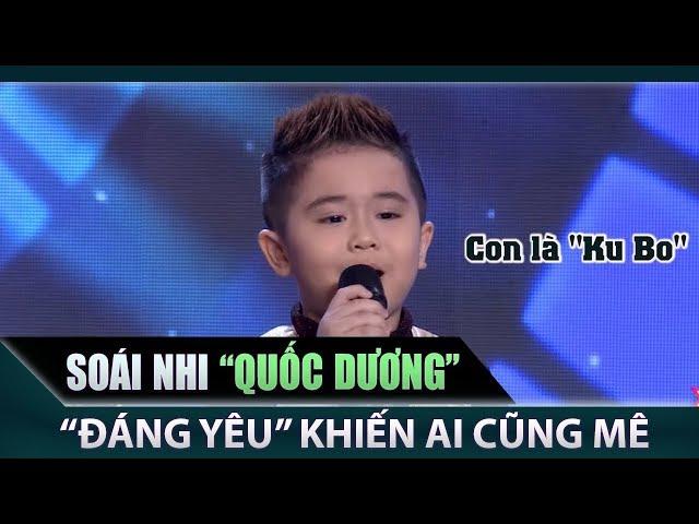 'Soái nhi' 5 tuổi Quốc Dương khiến khán giả bùng nổ vì quá đáng yêu