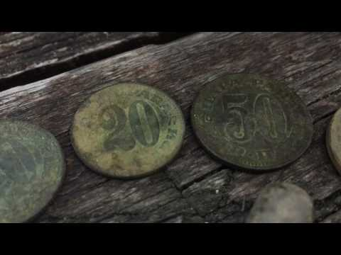 Metal detecting treska lake Macedonia