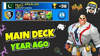 My Best Deck (1 Year Ago) #FRAG PRO SHOOTER