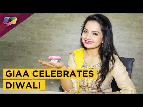 Giaa Manek Celebrates Diwali 2017 With India Forums | Exclusive