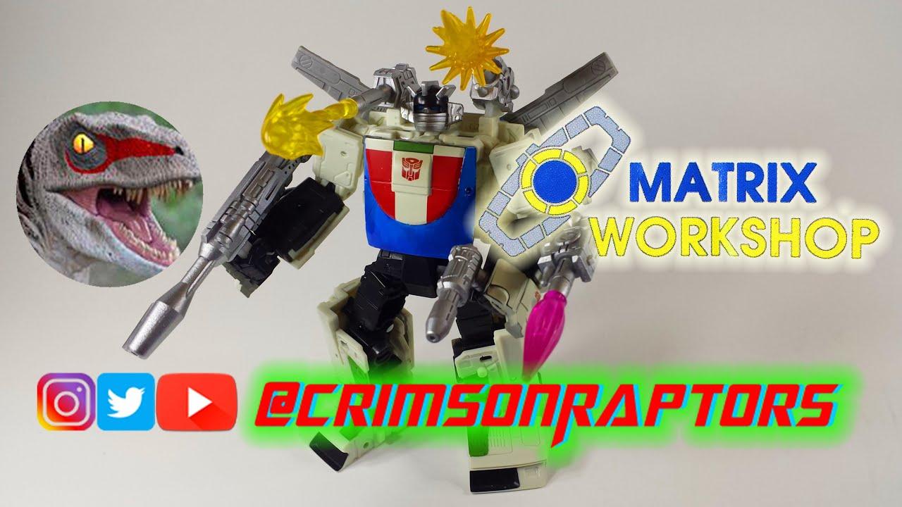 Transformers Matrix Workshop M-30 Upgrade Kit Earthrise Wheeljack Review by CrimsonRaptors