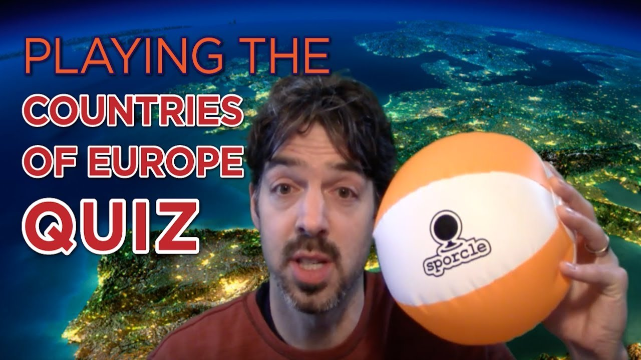 Playing the Countries of Europe Quiz