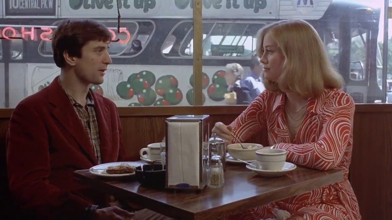 robert de niro review Taxi Driver (1976) - Travis and Betsy Get Lunch - YouTube