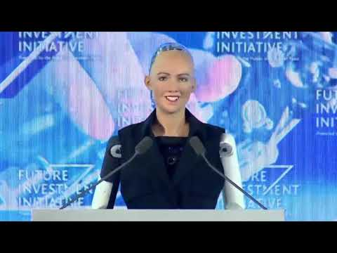 Download Youtube: Robot Sophia speaks at Saudi Arabia's Future Investment Initiative